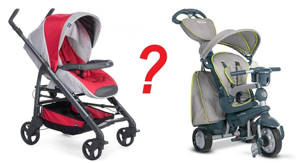 бебешка количка или триколка