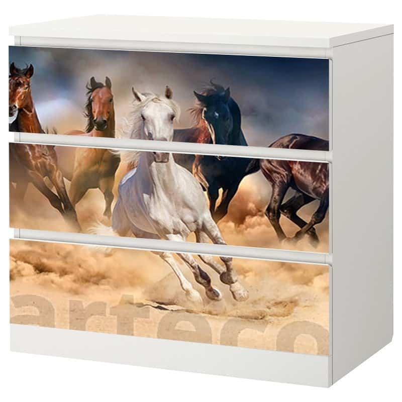 Декорация за скрин коне