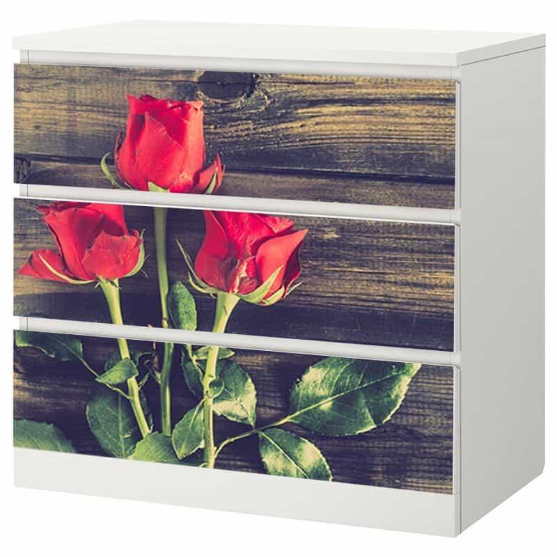 Декорация за скрин - рози