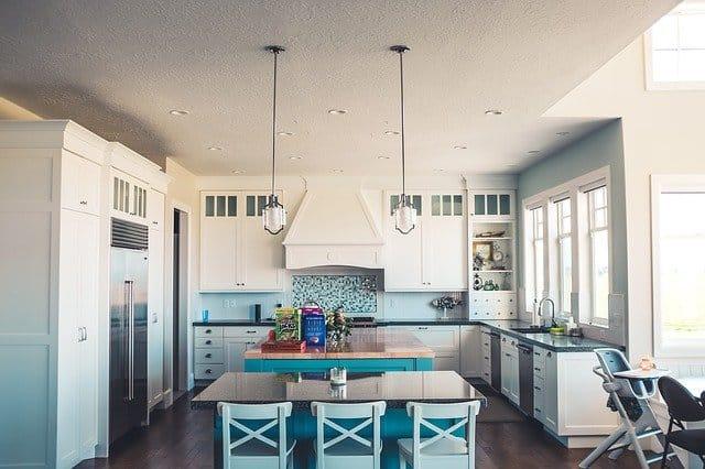 съчетаване на цветовете в кухнята